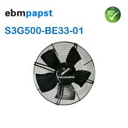 For Ebmpapst S3g500-be33-01 Axial Fan Ac 380/480v 1050w Andphi500mm Cooling Fan