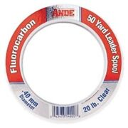 Ande Fpw-50-60 Fluorocarbon Leader Material, 50-yard Spool, 60-pound Test, Pink