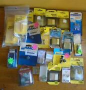 Lot Of 26 Marine Asorted Fuses And Pullers, Mac, Perko And Others