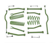 Fits Jeep Wrangler Jk Locas Green Suspension Lift Kits  Made In Usa J0047803