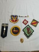 Vietnam Era Patches Pins Lapel Bar And Naval Police Badge