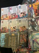 1992 Marvel Masterpieces Trading Card Base Set 1 To 100 Vg+