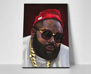 Rick Ross Rap Poster Or Canvas