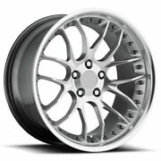 19-inch Bmw Wheels/rims 328 330 335 Gt7 Silver 5x120 Lugs Staggered