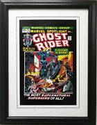 Marvel Ghost Rider- A Legend Is Born 5 Framed Comic Book Poster