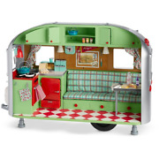American Girl Maryellen's Airstream Travel Trailer For 18 Dolls Camper New