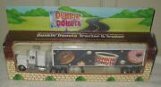 10168 Nrfb Vintage 1995 Dunkin Donuts Die Cast Tractor And Trailer Truck