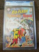 Brave And The Bold 54, Cgc = 7.5, Vf-, 1st Teen Titans, 1964, Older Cgc Label