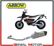 Exhaust System Arrow Not Approved Alum Race Tail Car For Ktm 690 Smc R 2019 2020