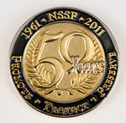 50th Anniversary Nssf Challenge Coin - 2011 Shot Show - National Shooting Sports