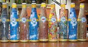 1990 50th Pepsi Cola Anniv Edition 9 Bottles Made In Uruguay Good Lot