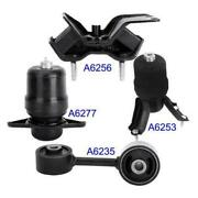 Front Engine Motor Mount 4pcs Kit For 1992-1996 Toyota Camry 2.2l For Auto Trans