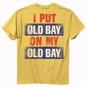 Old Bay I Put Old Bay On My Old Bay Short Sleeve T-shirt - New Fast Free Ship