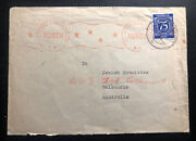 1946 Munich Germany Cover Displaced Persons Dp Leipheim Camp Unrra To Australia