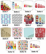 Childrens Russian Dolls Lampshades To Match Bedding Duvets Curtains Cushion