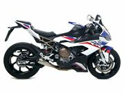 Arrow Complete Exhaust Competition Evo Mesh Back Net Steel Bmw S 1000 Rr 2019-20