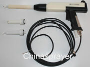 Wx-958 Electrostatic Powder Coating Gun,a Complete Set Of Gun With 3 Nozzles