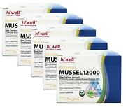 Hi Well Premium Mussel 12000 Green Lipped Mussel Extract Oil 200 Caps 5 Packs