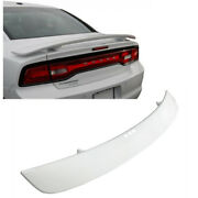 Painted Bright White Pw7 Oe Srt Style Daytona Trunk Spoiler 11-19 Dodge Charger