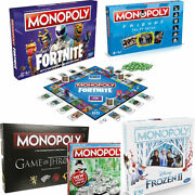 Monopoly Board Game - Brand New And Sealed - Lots Of Editions To Choose From