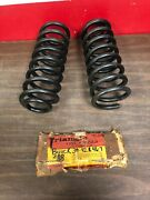 1939-42 1946 1947 Buick Front Coil Springs Nors Pair 1019