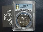 Pcgs Gold Shield Germany Prussia 1906 Marienburg Silver Medal Sp58