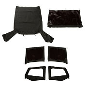 Fits Jeep Wrangler Yj With Door Skins Tops Soft With Doors Skins 13752.35