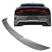 Psc Painted Billet Metallic Oe Hellcat Style Trunk Spoiler 11-19 Dodge Charger
