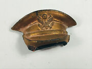 Awesome Ww2 Wwii Officers Hat Pin Pinback Unusual Marines Army Navy Air Force