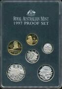 Australia 1997 Uncirculated Proof Set Of 6 Coins