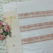 36y Bolt Antique French Lace Tags Antique Silk Tulle Handmade Normandy Colonial
