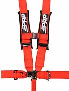 Prp Seats Sb5.3r Red 5-point Adjustable Harness W/ 3 Belts And Sewn In Pads