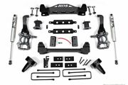 Bds 6 Lift Kit W/ 4 Rear Lift Block And Nx2 Shocks For 2015-2020 Ford F-150 2wd