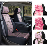 Seat Covers Pink Camo For Nissan Titan Coverking Custom Fit