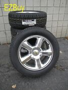 20 New Chevy Suburban Tahoe Factory Style Polished Wheels Nexen Tires 5308