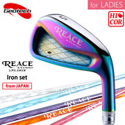 For Ladies 2019 Geotech Golf Japan Reace Studio Cnc Irons 789p Graphite 19wn
