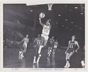 1968/69 Houston Mavericks Jackie Moreland Red Robbins Original Aba 8x10 Photo