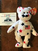 Ty Beanie Baby Glory Rare W/errors In Mint Condition Andndash 1998 Mlb All Star Game