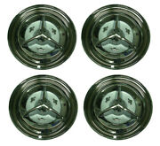 1956 Oldsmobile 88 98 Deluxe Spinner Wheel Cover Hubcap Set Of 4