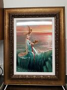 Michael Cheval Lady Of The Hurricane Ii Signed Limited Edition Print.