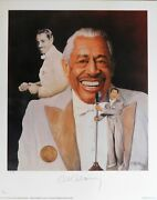 Cab Calloway Jazz Musician Signed Le 16x20 Christopher Paluso Lithograph Jsa Aut