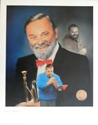 Al Hirt Jazz Musician Signed Le 16x20 Christopher Paluso Lithograph Jsa Auth.