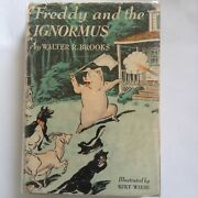Freddy And The Ignormous -- Walter R. Brooks -- 1st Ed. Knopf 1941 -- Vg+ / Fair