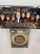 Funco Mystery Mini Box Barns And Noble Lord Of The Rings + Pez Collection New