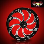 Ftd Customs Fat Front Wheel And Tire Kit Slasher 180mm Fat Front Tire And Wheel