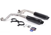 Barker 3/4 Dual Exhaust System Black + Red Tag Canam Can Am Maverick 1000 13