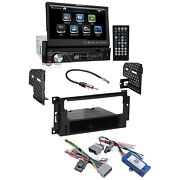 Soundstream Bluetooth 7 Lcd Dash Kit Interface For 2004-08 Chrysler Dodge Jeep