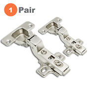 110 Degree Self Close Cabinet Door Hinge Concealed Euro Inset H-quality