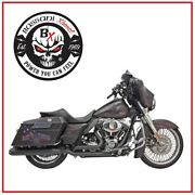 Scarico Bassani Black Dual Down Under System 09 - 16 Harley Touring