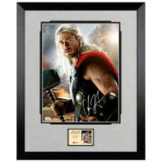 Chris Hemsworth Autographed Avengers Age Of Ultron Thor 11x14 Framed Photo